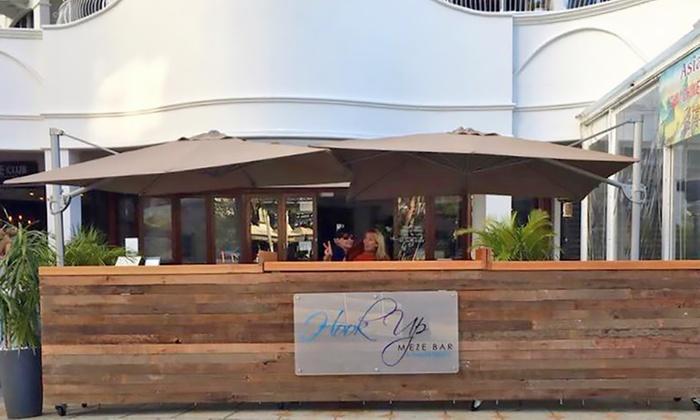 Hook up Meze bar Broadbeach menu première dans le Collège datant d'un junior à l'école secondaire