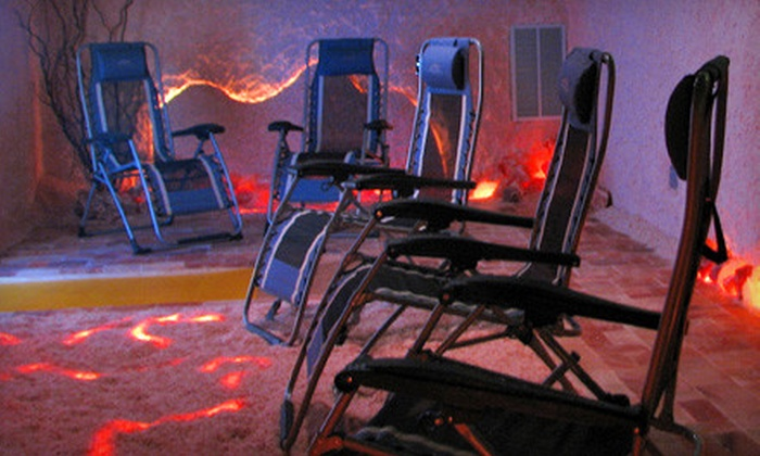 The Salt Spa of Asheville - Shiloh: Two or Five 45-Minute Salt-Room Sessions at The Salt Spa of Asheville (Up to 55% Off)