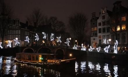 Amsterdam Light Festivalcruise inclusief drankjes voor 120 personen bij Rederij Nassau
