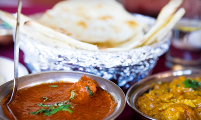 Gateway of India - Teaneck: $20 for an Indian Dinner for Two at Gateway of India in Teaneck (Up to $55 Value)