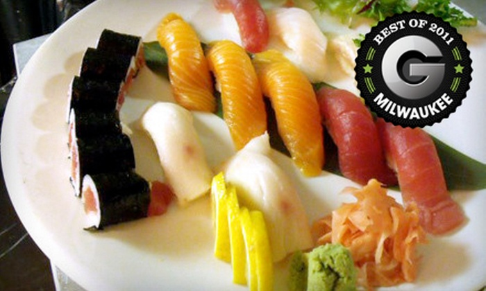 Kiku Japanese Cuisine - Kilbourn Town: $20 for $40 Worth of Sushi and Japanese Fare at Kiku Japanese Cuisine