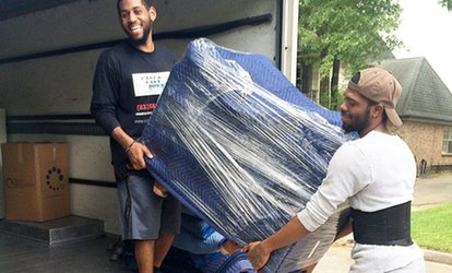 2 Hours of Moving Services with Two or Three Movers from Fast & Easy Moves (Up to 61% Off). 4 Options Available.