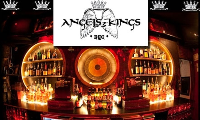 Angels & Kings - East Village: $9 for Any Two Drinks at Angels & Kings (Up to $22 Value)