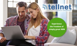 Tellnet: NBN or ADSL2+ Broadband: 20% Off 12 Months ($2) or 30% Off 3 and 6 Months ($3) from Tellnet
