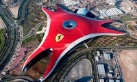 Abu Dhabi City Tour with a Ticket to Ferrari World with Smart Tourism (41% Off)