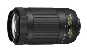 Nikon AF-P DX NIKKOR 70-300mm f/4.5-6.3G ED VR Lens (Refurbished)