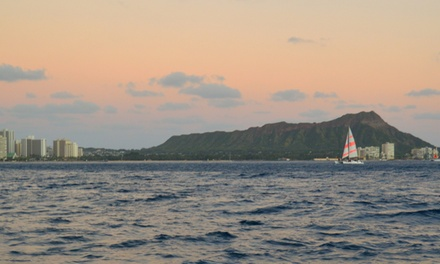 $59 for a Two-Hour Sunset Cruise from The Hawaiian Adventure Company ($125 Value)