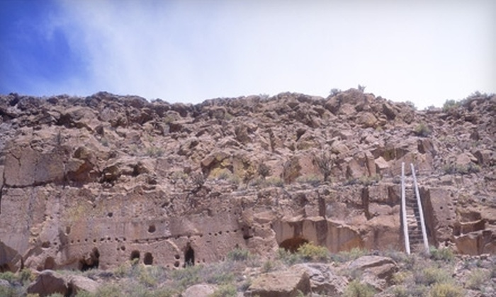 Puye Cliff Dwellings - Espanola: $10 for a Cliff Side Tour (Up to $20 Value) or $10 for a Mesa Top Tour (Up to $20 Value) at the Puye Cliff Dwellings in Española