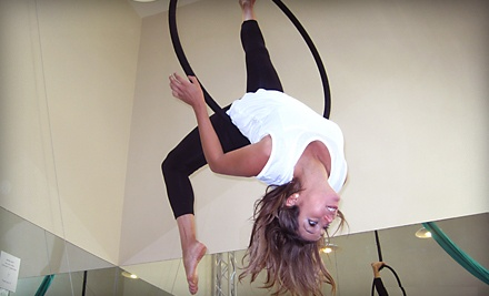 3 Aerial-Skills Classes Valid for Silks, Lyra or Trapeze (up to a $135 value) - Athletic Club for Women in Newport Beach
