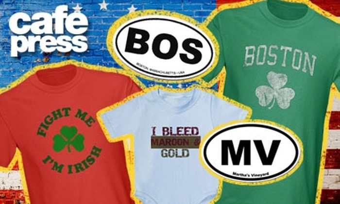 CafePress: $25 for $50 Worth of Customized T-Shirts and Gifts from CafePress