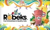 Robeks Fruit Smoothies and Healthy Eats - Multiple Locations: $10 for Four Regular-Size Smoothies at Robeks (Up to $23.96 Value)