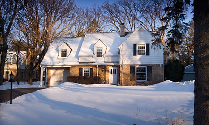 B & B Services LLC - Eagan: $55 for Roof-Raking Snow Removal from B & B Services LLC (Up to $185 Value)