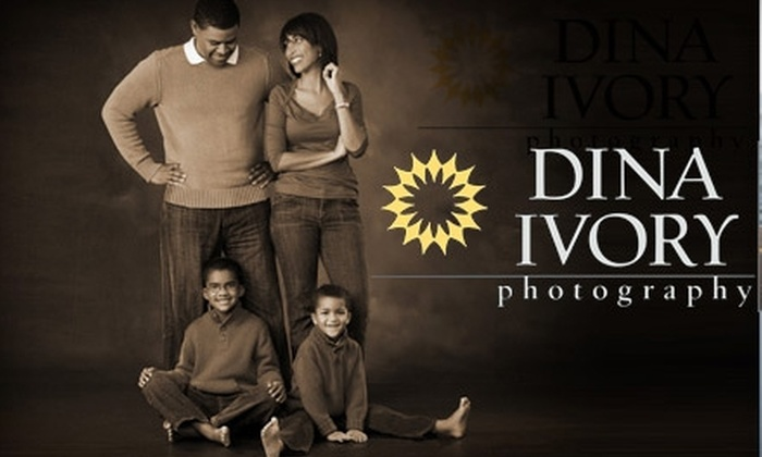 Dina Ivory Photography - Tallahassee: $50 for One-Hour Studio Session With Dina Ivory Photography and $100 Toward Prints (Up to $225 Value)