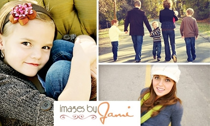 Images by Jami - Salt Lake City: $49 for a 30-Minute Photo Shoot, Two Digital Files, and 10% Off Prints at Images by Jami ($180 Value)