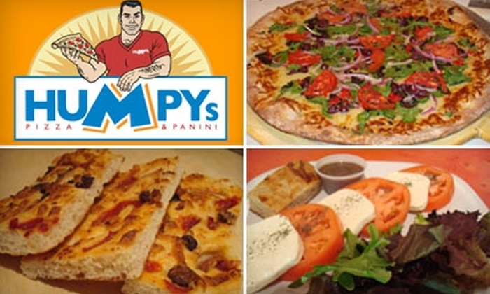 Humpys Pizza & Panini - Wilton Manors: $7 for $15 Worth of Pizza and More at Humpys Pizza & Panini