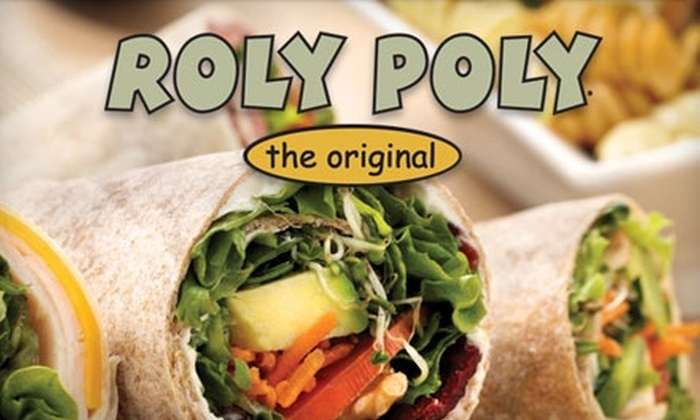 Roly Poly - Downtown Rockford: $5 for $10 Worth of Rolled Sandwiches, Soups, and More at Roly Poly