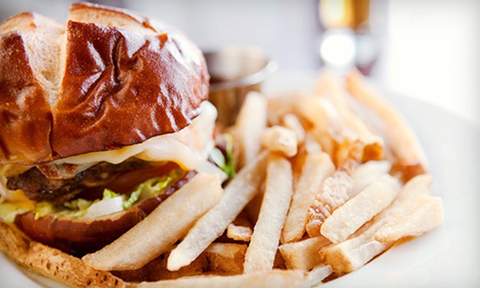 null - Malaga: Burgers, Sandwiches, and Breakfast at Golden State Grill (Up to 53% Off). Two Options Available.