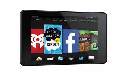 """טאבלט Amazon Kindle Fire HD, עם מסך """"7, חיבור Wi-Fi ואחריות לשנה, ב-244 ₪ בלבד!"""