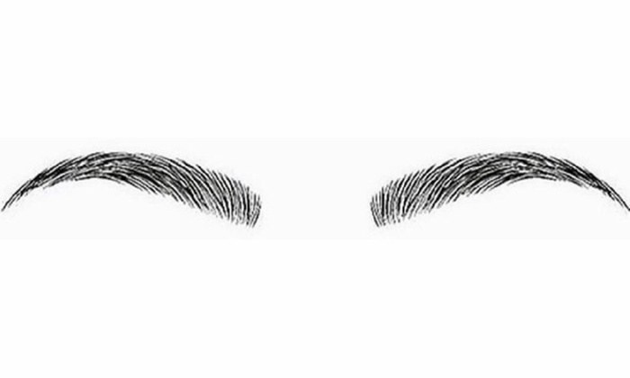 Temporary Eyebrow Tattoos Natural Beauty Effects Groupon