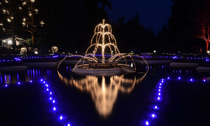 WESTCOAST Sightseeing - Canada Place: Christmas Light Tour of Vancouver City and Capilano Suspension Bridge or Victoria and Butchart Gardens (Up to 26% Off)