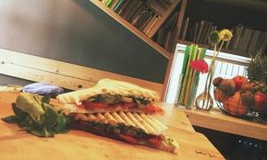 Od dechy do dechy restauracja: Dowolny napój i kanapka dla 2 osób za 18,99 zł i więcej opcji w Restauracji Od Dechy Do Dechy (do -38%)