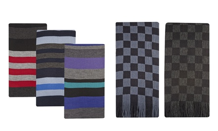Men's Pierre Roche Scarves Two or ThreePack from £6.98