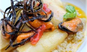 Ristorante Pizzeria Calabernardo Gambero Rosso: Menu di pesce con dolce e vino al Ristorante Pizzeria Calabernardo Gambero Rosso a Noto sul mare (sconto fino a 71%)