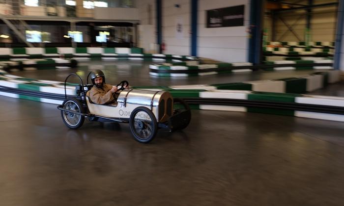 Oldies Racing - Leers: 1 ou 2 sessions pour enfant et adulte, avec carte de membre et boisson offerte, dès 18,65 € chez Oldies Racing