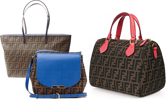 Vogue VIP - Merchandising (AE): Women's Fendi Handbags from AED 1999 (Up to 45% Off)