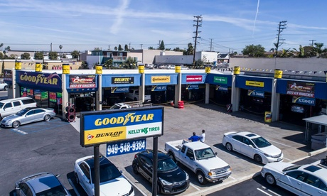 European or One Full Synthetic or One Synthetic Blend Oil Changes at D & S Tire Solutions
