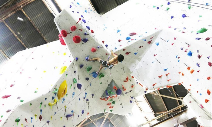The Stronghold Climbing Gym - Chinatown: Beginner Rock Climbing Class for One or Two at The Stronghold Climbing Gym (Up to 50% Off)