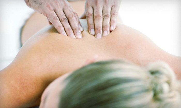 Studio Rejuvenate - Greer: Deep-Tissue or Swedish Massage with a Glass of Wine at Studio Rejuvenate (Up to 58% Off). Three Options Available.