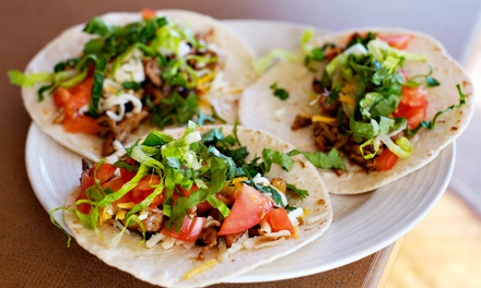 Mexican Food for Dine-In or Takeout at Tacos Mexico (Up to 50% Off). Three Options Available.