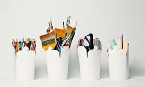 Studio 42: 2 Std. Painting-Event inkl. Materialien für 1 oder 2 Personen im Studio 42 (bis zu 30% sparen*)