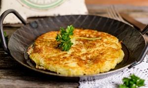 Osteria L'Ombelico di Bacco: Menu frico rivisitato con antipasto, dolce e vino per 2 o 4 persone da Osteria L'Ombelico di Bacco (sconto fino a 66%)