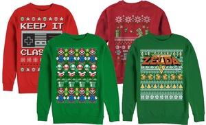 Nintendo Ugly Christmas Sweatshirts Groupon