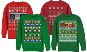 Nintendo Ugly Christmas Sweatshirts