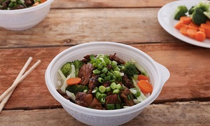 The Flame Broiler- San Marco Location : $12 for 2 Groupons: Each Good for $10 Worth of Asian Food at The Flame Broiler—San Marco ($20 Value)