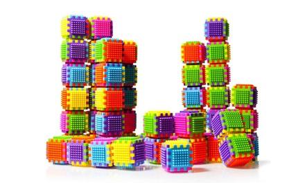 Dimple Stacking Bristle Block Sets (60-Piece) | Groupon