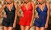 Intimax Damen-Nigliche in Schwarz, Rot oder Blau