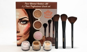 Contour Kit with 3 Professional Brushes