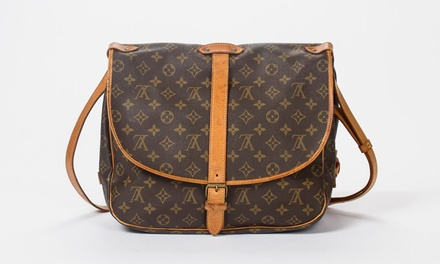Louis Vuitton Saumur Second-Hand Bag With Free Delivery