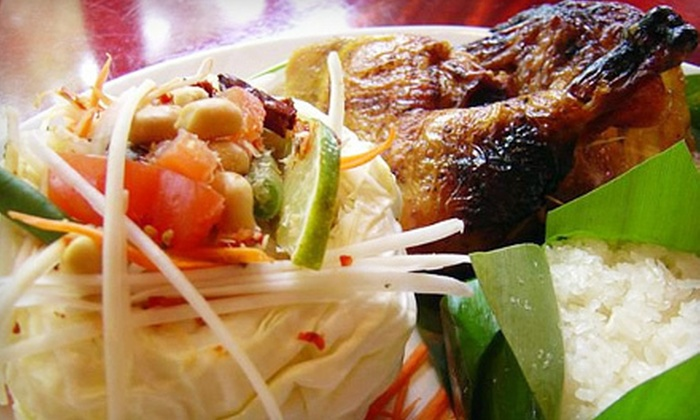 Bangkok Bistro at Ballston - Ashton Heights: $15 for $30 Worth of Contemporary Thai Cuisine at Bangkok Bistro at Ballston in Arlington