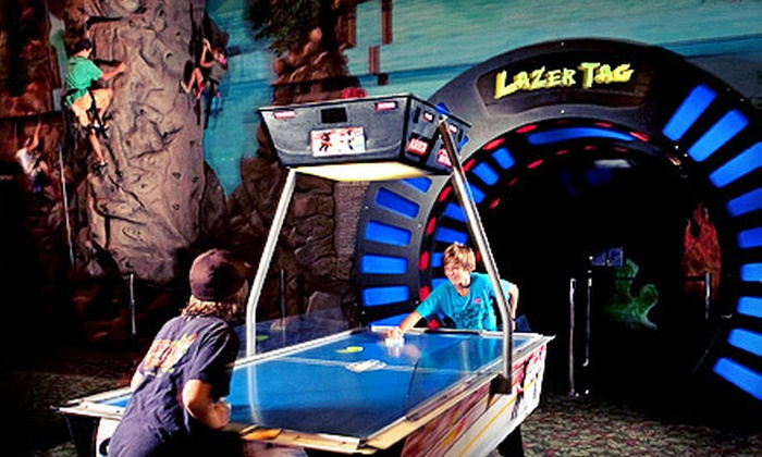 Daytona Lagoon - Brush / Stewarts: Fun-Park Visit for One or Two with All-Day Dry Attractions and Mega Arcade Game Cards at Daytona Lagoon (Up to 53% Off)