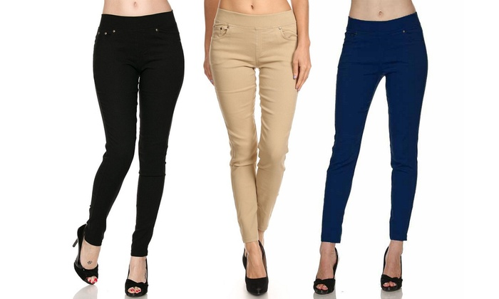Women's Plus-Size Jeggings (3-Pack) (Size 1X/2X)