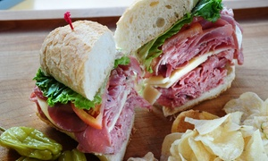 Pickles Deli: One or Two Groupons, Each Good for $10 Worth of Classic Deli Food at Pickles Deli (40% Off)
