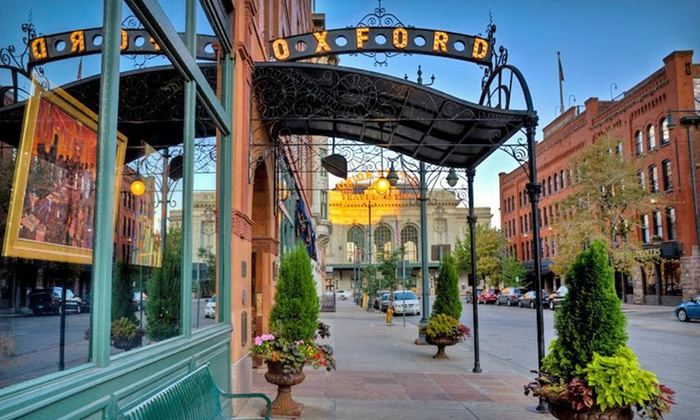 The Oxford Hotel - Denver: One-Night Stay at The Oxford Hotel in Downtown Denver