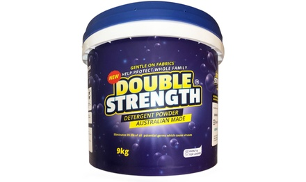 $34 for Double Strength Laundry Washing Powder 9kg