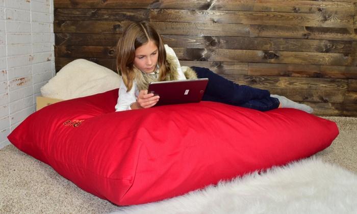xorbee xl relaxer giant foam pillow xorbee xl relaxer giant 4