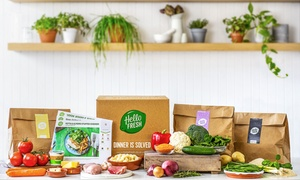 Hello Fresh UK: Recipe Box Subscription: One or Two Weeks for Two or Four People from HelloFresh (Up to 66% Off)